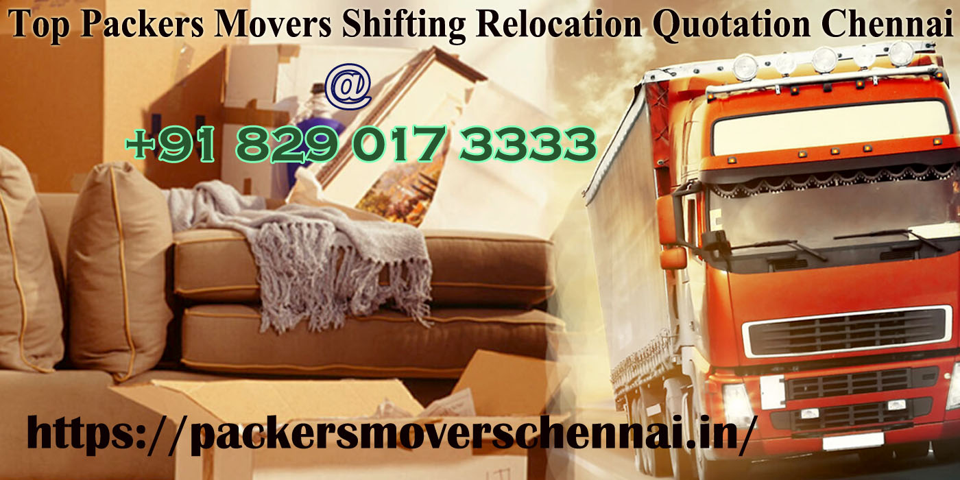 Local Packers And Movers Chennai